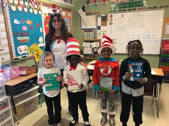 Mrs. Turner's Class Dr. Seuss Day